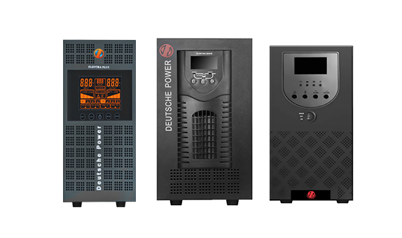 ELENTRA SERIES  LINE INTERACTIVE PURE SINE WAVE UPS 1KVA ~ 10KVA(1/1) For All IT Applications- Deutsche Power